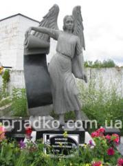 Sculptures are ceramic