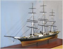 Models of the sailing ships large-scale to order,