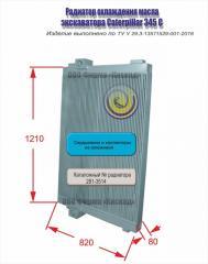 Радиатор масляный Caterpillar 345 C