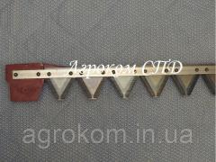 Коса нож с насечками косилки K-1.4 Balmet