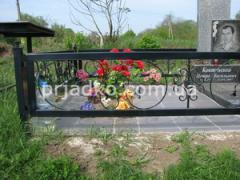 Оградки ритуальные, Ограды на кладбище, ограда на могиле