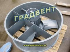 Вентилятор осевой ВО 06-300-10 с электродвигателем 3,0 кВт, 1000 об/мин