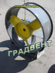 Вентилятор осевой ВО 06-300-8 с электродвигателем 1,5 кВт, 1000 об/мин