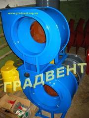 Вентилятор радиальный ВЦ 4-75 №2,5 (ВР 88-72-2,5) с электродвигателем 0,18 кВт, 1500 об/мин