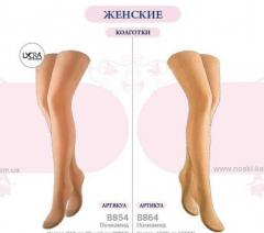 Tights are female elastic