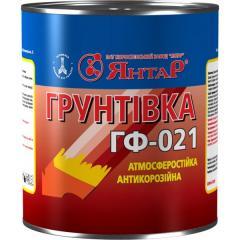 Грунтовка ГФ-021 Янтарь 55, Красно-коричневый