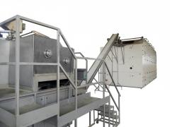 Макаронное оборудование производительностью 250 кг/час, оборудование для производства пасты (pasta)
