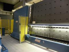 The Steklopaketny Lisec line 2500 X 3500 with the