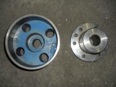 Brake semi-couplings