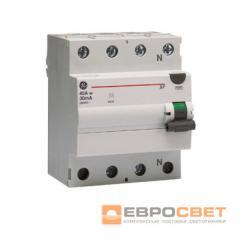 Устр. защ. откл. BPC425/030 4P, AC