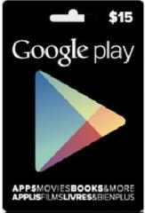 Google Play Gift Card 15$ (15 долларов) для Гугл