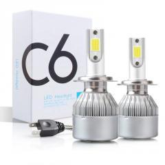 C6 Лампа светодиодная цоколь H7 (к-кт 2 шт) 12 V,