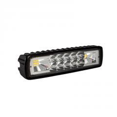 Фара LED прямоугольная 48W (2 цвета (белый центр,