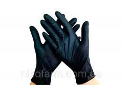 Перчатки медицинские нитриловые смотровые
