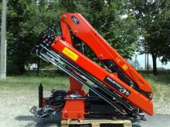 The crane manipulator of the HC 80 series is a novelty from the HC Industrie company (Italy)