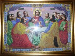 """Icon """"Last Supper"""
