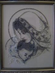 "Икона ""Мария с младенцем"""