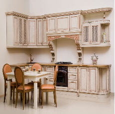 Kitchens from a naturnalny tree