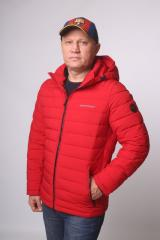 Мужской пуховик Zerofrozen ZF 70189 красный