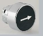 Кнопка черная, со стрелкой 8 LM2T B1142