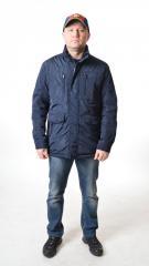 Удлиненная мужская куртка ветровка Kings...