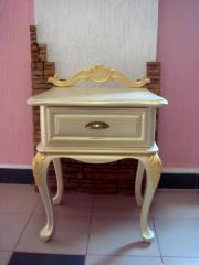 "Bedside table ""White nigh"