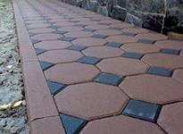 Производство вибропрессованной тротуарной плитки и