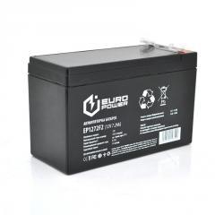 Акумуляторна батарея EUROPOWER AGM EP12-7.2F2 12 V