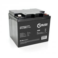 Аккумуляторная батарея EUROPOWER AGM EP12-40M6 12