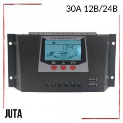 Контроллер заряда 30А 12В/24В JUTA с дисплеем и