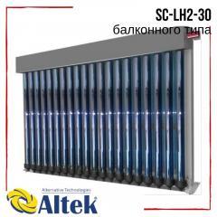 Солнечный коллектор Altek SC-LH2-30 вакуумный