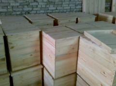 Beehives plank beds