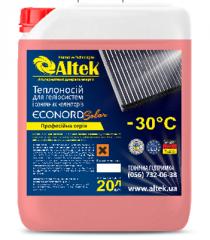Теплоноситель ECONORD Solar -30C жидкость 20л для