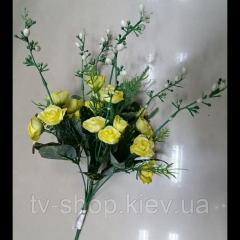 Цветы искусственные букет Роз рябой лист