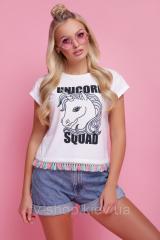 GLEM Unicorn squad футболка Стиль-2 (короткая)