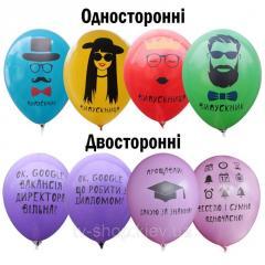 Шарик латексный Выпускник (8 шт)