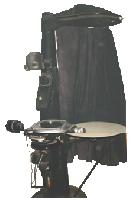 Большой проектор БП-2 измерение шаблонов и деталей