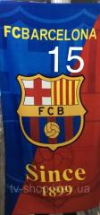 Полотенце Barcelona since 1899 ,75х150 см( Турция)