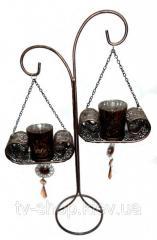 Подсвечник на 2 свечи Восточная сказка ,45 см