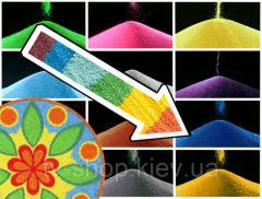 Декоративный наполнитель песок (10 цветов)