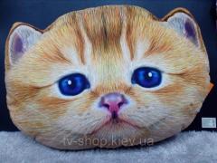 Подушка Рыжий кот, 45х30 см