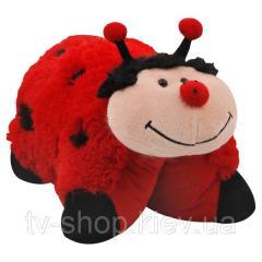 Подушка-складушка Божья коровка Pillow Pets