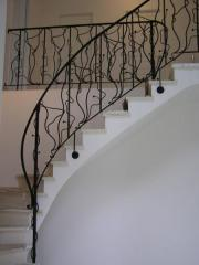 "Shod handrail ""Guitar"" (modern)"