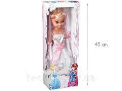 Кукла Золушка невеста муз.(45 см)
