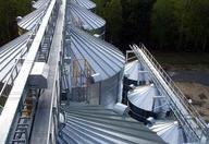 Conveyors chain for grain