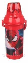 Бутылка детская с поилкой Человек паук