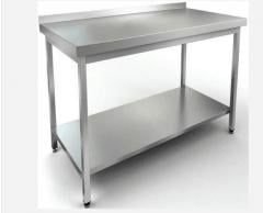 Furniture industrial of the Stainless steel under
