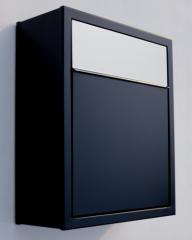 Mail box in black color