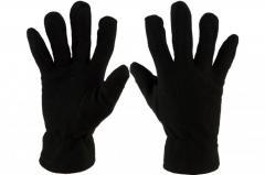 Перчатки флисовые зимние черные Польские Vitlux