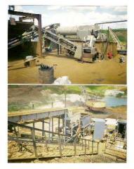 Установка по обогащению ильменитовой руды